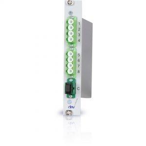 1:8 CWDM Optical De-/Multiplexer | DEV 7618