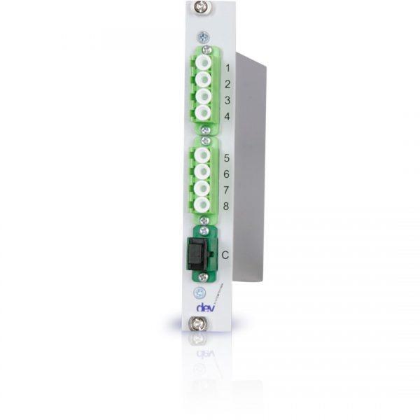 1:8 CWDM Optical De-/Multiplexer   DEV 7618