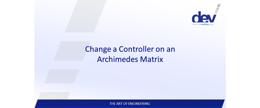 Change a Controller on a DEV Archimedes RF Matrix Switch