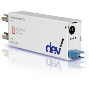 RF over Fiber Desktop L-Band Transmitter | DEV 7285