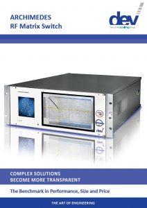Title Archimedes L-Band Matrix Brochure