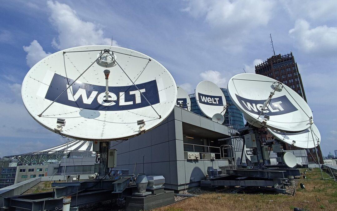 Qvest Media Integrates WELT's New Satellite Infrastructure with DEV Systemtechnik RF Systems